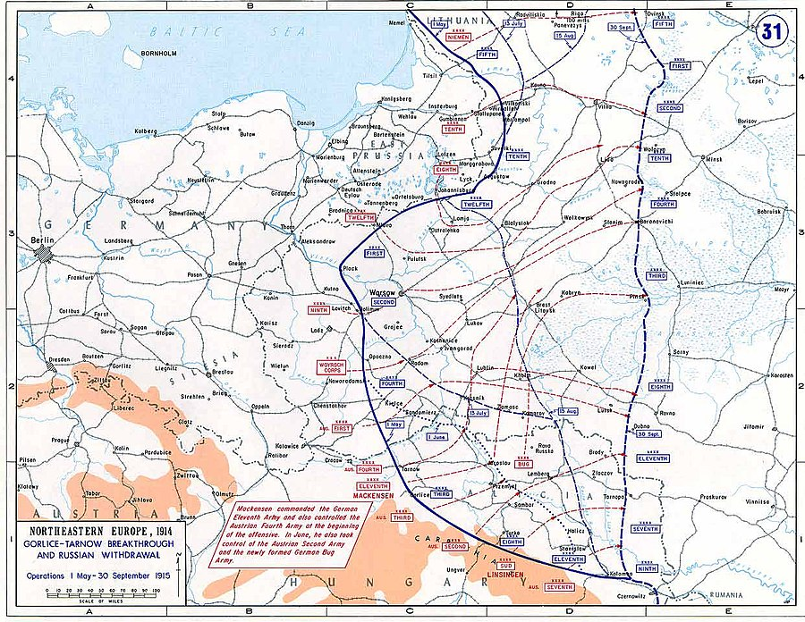 Gorlice–Tarnów Offensive