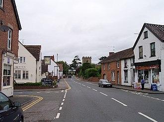 Eckington, Worcestershire - Image: Eckington Main Street