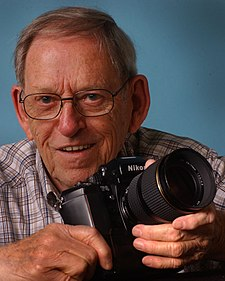 Ed Westcott Manhattan Project Photogragher in Oak Ridge Tennessee 2004.jpg