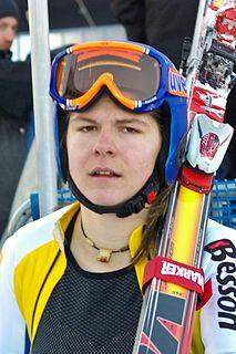 Edit Miklós Hungarian alpine skier