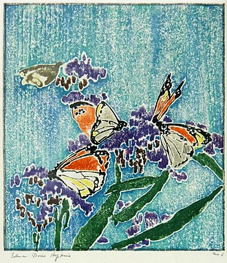 Edna Boies Hopkins - Edna Boies Hoffman, Butterflies, about 1914-1915, Cincinnati Art Museum