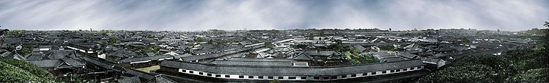 File:Edo Panorama old Tokyo color photochrom.jpg