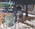 Edouard VUILLARD - Sous les arbres du pavillon rouge - Musée des Augustins - D 1946 1.jpg