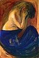 Edvard Munch - Half-Nude in a Blue Skirt.jpg