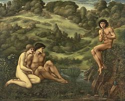 Edward Burne-Jones: The Garden of Pan