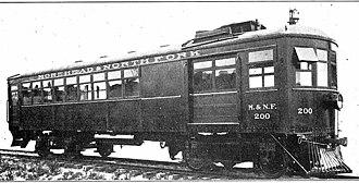 Edwards Rail Car Company - Edwards Model 20 railcar