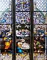 Eferding Pfarrkirche - Chorfenster 1 Geburt.jpg