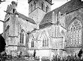 Eglise - Façade sud - Transept et clocher - Dives-sur-Mer - Médiathèque de l'architecture et du patrimoine - APMH00001007.jpg