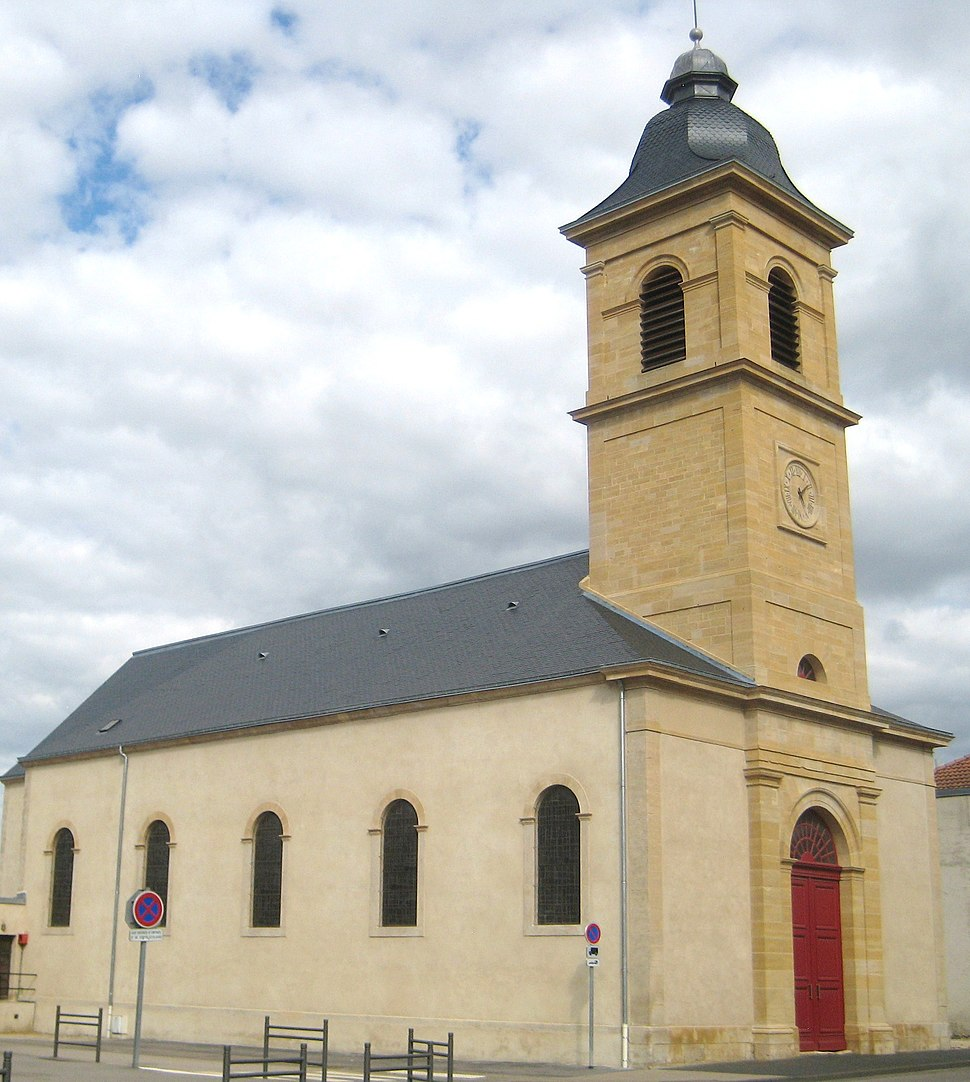 The church in Conflans-en-Jarnisy