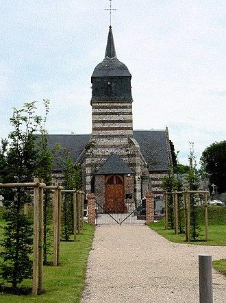 Ancretteville-sur-Mer - The church in Ancretteville-sur-Mer