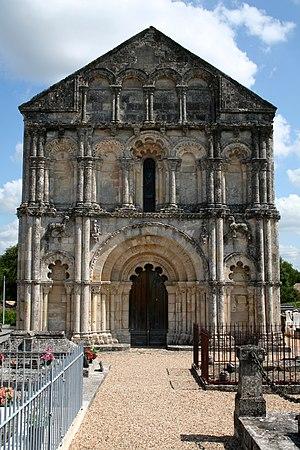 Petit-Palais-et-Cornemps - Eglise Saint-Pierre de Petit-Palais-et-Cornemps,
