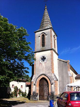 Augnax - Image: Eglise d'Augnax