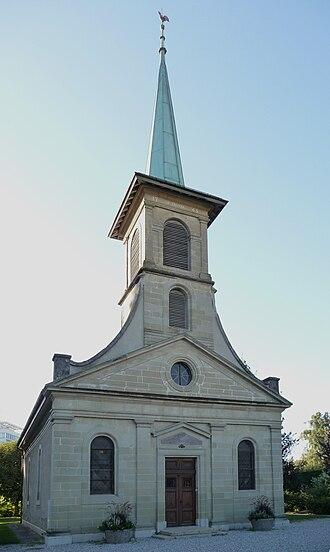 Prilly - Prilly village church