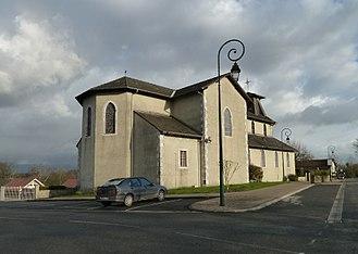 Saint-Castin - The church of Saint-Castin
