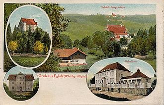 Argenbühl - Eglofs around 1900