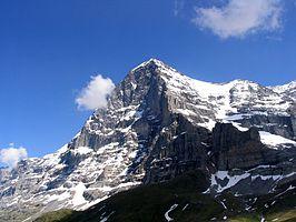 Noordwestkant van de Eiger