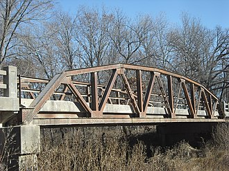 National Register of Historic Places listings in Franklin County, Kansas - Image: Eight Mile Creek Bridge