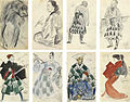 Eight sketches from Japan by A.Yakovkev.jpg