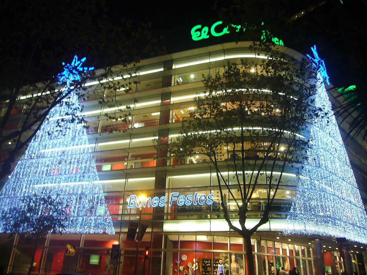 barcelona corte ingles regals nadal