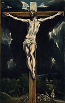 El Greco (Domenikos Theotokopoulos, called) - Christ on the Cross - Google Art Project.jpg