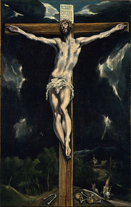 El Greco (Domenikos Theotokopoulos, called) - Christ on the Cross - Google Art Project
