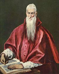 El Greco: Saint Jerome as Cardinal