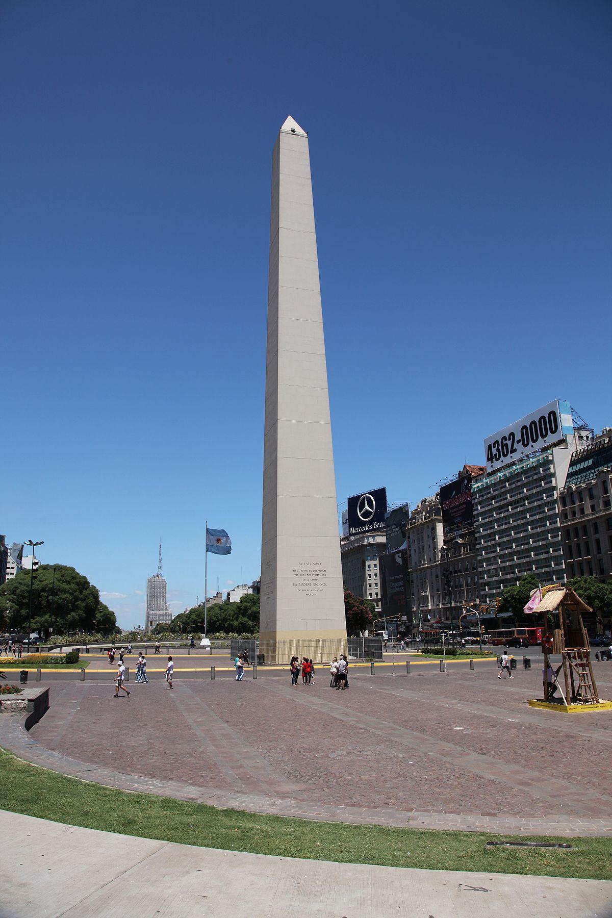 Obelisco de buenos aires wikip dia a enciclop dia livre for Obelisco buenos aires