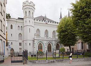 Small Guild, Riga - Image: El Pequeño Gremio, Riga, Letonia, 2012 08 07, DD 03