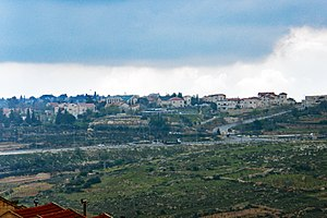 Elazar, Gush Etzion - Image: Elazar
