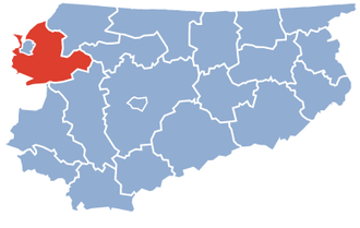 Elbląg County - Image: Elblag County Warmia Masuria