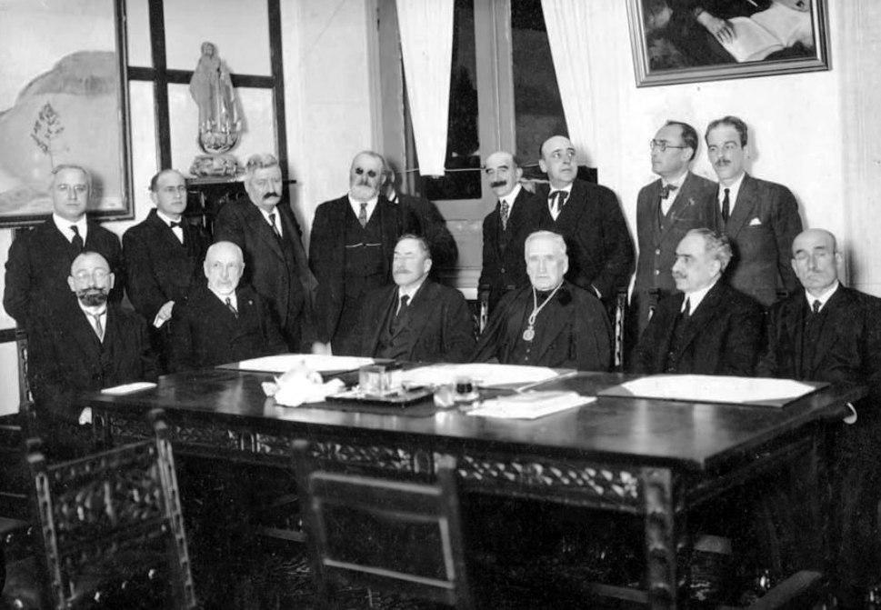 Elección de Eladio Rodríguez como presidente da Real Academia Galega, A Coruña, 20 de novembro de 1926 (2)