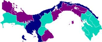 Panamanian general election, 2014 - Image: Elecciones Panamá Resultados 2014