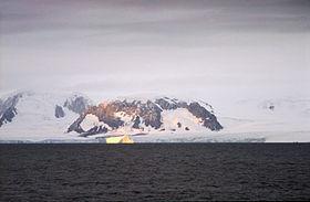 L'île de l'Éléphant en Antarctique