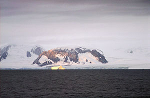 Elephant Island - Elephant Island from the sea NOAA photo