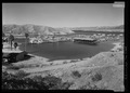 Elevated view of cove from south - Cottonwood Cove Developed Area, Cottonwood Cove Road, Cottonwood Cove, Clark County, NV HALS NV-1-37.tif