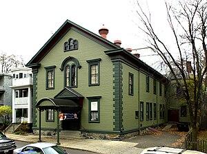 Eliot Hall - Image: Eliot Hall Jamaica Plain Boston MA 02