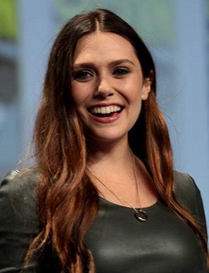 Elizabeth Olsen - Olsen at the 2014 Comic-Con International