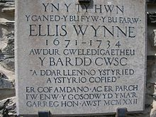 Ellis Wynne plaque.jpg