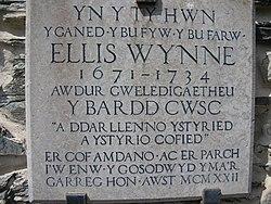 Ellis Wynne plaque.jpg