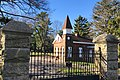 Elmwood Cemetery, NJ - gates and gatehouse.jpg