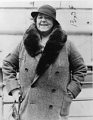 Elsa Maxwell - LOC cph.3c26704. Elsa Maxwell, 1933
