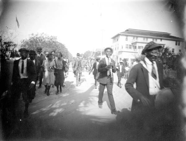Emancipation Day Parade Lincolnville, Florida (1920s)