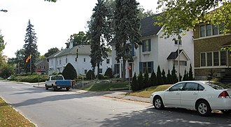 Sandy Hill, Ottawa - Embassy Row on Range Road