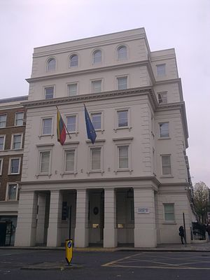 Embassy of Lithuania, London - Image: Embassy of Lithuania in London 1
