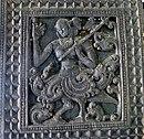 stok citer veena in de handen van een Kinnari