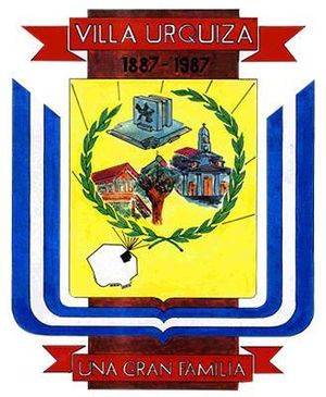 Villa Urquiza - Image: Emblema Villa Urquiza