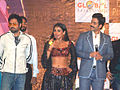 Emraan Hashmi, Vidya Balan, Tusshar Kapoor promote The Dirty Picture at Mithibai College Kshitij (8).jpg