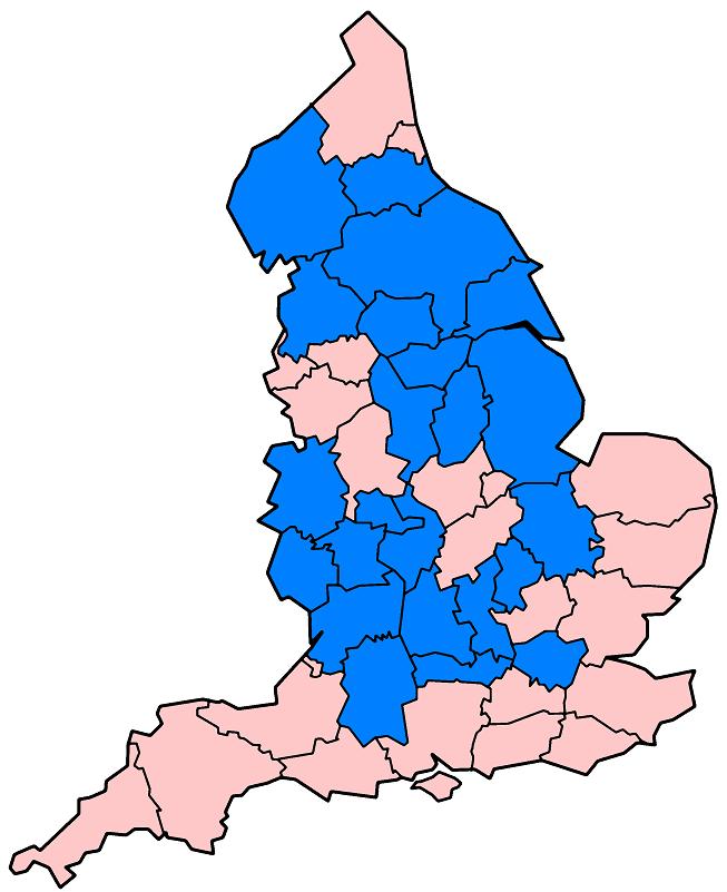 English counties flood damage July 24 2007