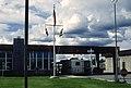 Entering Alaska, Alcan port of Entry (50043406852).jpg
