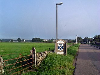 Halkirk - Image: Entering Halkirk geograph.org.uk 543125